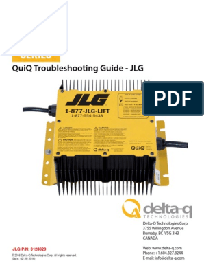 Delta-q Troubleshooting Guide 3128829 03-08-2016-1 | Battery ... on