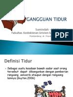 DT F5 Gangguan Tidur