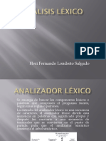 COMPILADORES -  Analizador Lexico