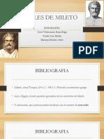 Exposicion Tales de Mileto