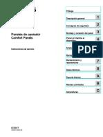 Hmi Comfort Panels Operating Instructions EsES Es-ES (1)
