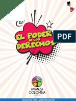 Brochure el Poder de los Derechos - Avanza Colombia