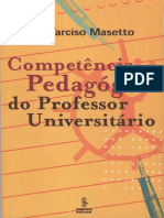 MASETTO, Marcos Tarciso. Competência Pedagógica do Professor Universitário.pdf