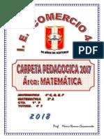 Carpeta Pedag 2018 Comercio 41 Cusco