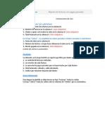 Planilla de Excel de Reporte de Facturas