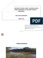 Inta -Propuesta Tecnica Represas Para Sistemas Ganderos de Zonas Aridas y Semiaridas