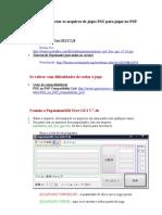 Tutorial Criar de PSX Para PSP