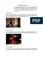 Tipos de danzas