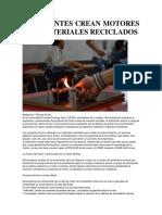 ESTUDIANTES CREAN MOTORES CON MATERIALES RECICLADOS.docx