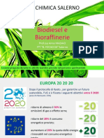 Lezione Biodiesel e Bioraffinerie