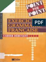 Yves Loiseau, Régine Mérieux Exercices de grammaire française. Cahier débutant.pdf
