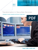 CAPGEMINI Transformation in Securities Services