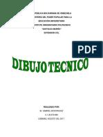 DIBUJO TECNICO 1