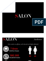 Salon Magazine Media Kit