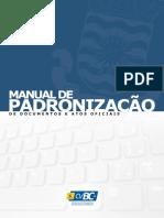 Manual de Padronização CVBC