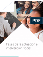 Fases de La Actuación e Intervención Social