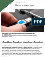 Cómo Descargar Cualquier ISO de Windows Legal y Gratis » MuyComputer