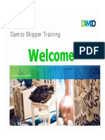 Damco Shipper - Training for Vendors