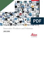 Leica Microsystems product catalog EN
