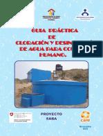 Guia Práctica de Cloración y Desinfección de Agua Para Consumo Humano.