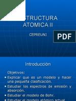 Teoria Atomica Cepre UNI