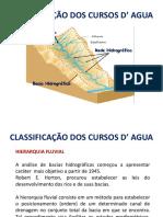 Classificação Dos Cursos d' Agua