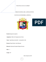 Analisis Textual SEBASTIAN CHIPANA Agricola