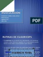 musculación Diapositivas