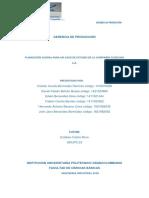 Gerencia de Producción Segunda Enntrega Cosechas s.A