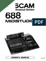 Tascam - 688 - User-manual