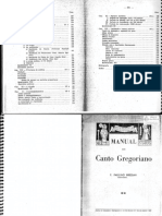 Apostila Canto Gregoriano -Paulino Bressan