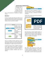 Estructura Condicional 2 Scratch - Practicas 7-8-9