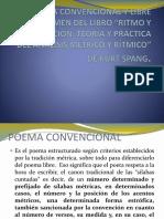 Poema Convencional y Libre