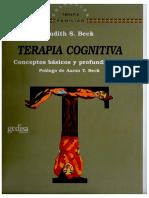 273867861 Judith Beck Terapia Cognitiva Conceptos Básicos y Profundización