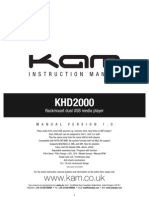 Kam Khd2000 Web Manual