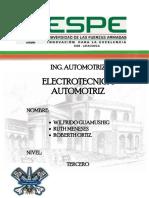 Informe de Electrotecnica