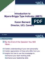 MBTI (UCL)