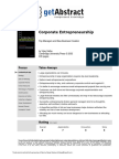 Corporate Entrepreneurship Sathe en 2559