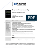 Corporate Entrepreneurship Sathe en 2559