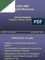 Sets Subsets