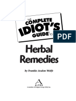 Wolfe F.a. the Complete Idiot's Guide to Herbal Remedies (Alpha, 1999)(ISBN 0028633725)(400s)_BH
