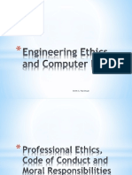 Engineering Ethics and Computer Laws