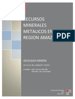 111224697 Recursos Minerales de La Region Amazonas