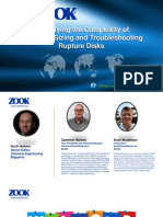 ZOOK Webinar - Solving the Complexity of Selecting, Sizing and Troubleshooting Rupture Disks