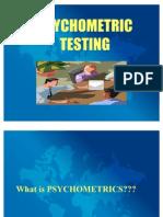 Psycho Test 1