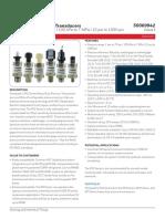 Honeywell Sensing Heavy Duty Pressure Px2 Series Datasheet 50069942 I En