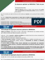 Internalização da legislação aduaneira aplicável ao MERCOSUL