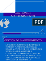 Gestion de Mantenimiento Ppt
