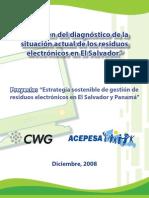 Diagnostico Desechos Electronicos en El Salvador