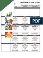 Cronograma de Charlas Abril 2016